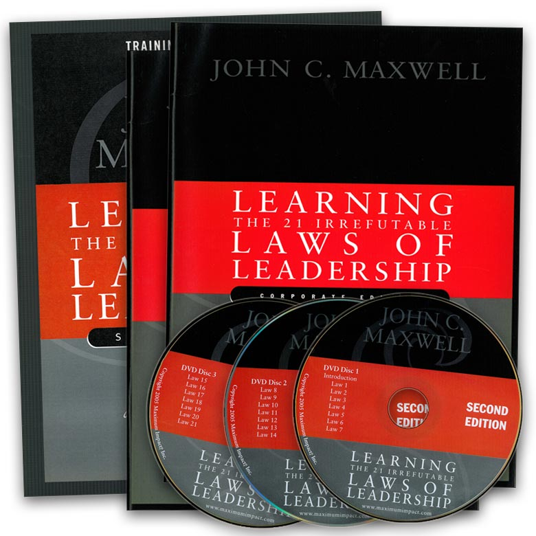 The 21 Irrefutable Laws Of Leadership Dvd Training Curriculum